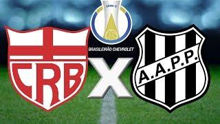 CRB x Ponte Preta Ao Vivo   Brasileirão Série B 2018