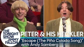 Peter and His Heckler - ″Escape (The Piña Colada Song)″ with Andy Samberg