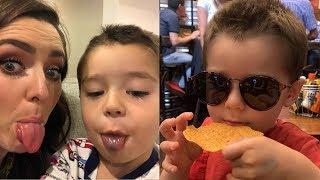 Ariadne Díaz, Marcus D'Ornellas y su hijo Diego pasan tiernos momentos en familia