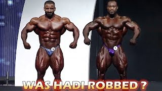 Hadi Choopan vs William Bonac at 2019 Mr. Olympia - Analysis