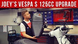 JOEY'S VESPA S 125 CC UPGRADE | VOL GAS MET JOEY