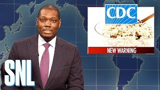 Weekend Update: Colin Jost and Michael Che Swap Jokes - SNL