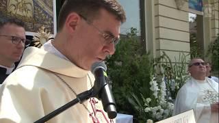 Rozważania Bp. Marczaka przy III ołtarzu | Boże Ciało | Łódź 2019
