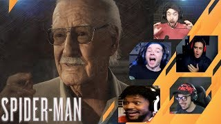 Gamers Reactions to STAN LEE CAMEO   Marvel's Spider-Man