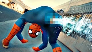 ANATOMICALLY CORRECT Spiderman