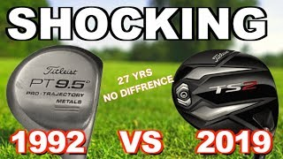 ARE NEW GOLF CLUBS REALLY ANY BETTER THAN OLD GOLF CLUBS - NO