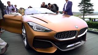 2017 BMW World & North American Debut at Pebble Beach Concours d'Elegance