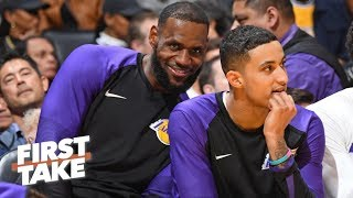 Calm down Lakers fans, LeBron made you relevant again! – Max Kellerman