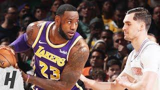 Los Angeles Lakers vs New York Knicks - Full Game Highlights   March 17, 2019   2018-19 NBA Season
