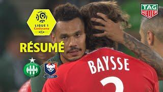 AS Saint-Etienne - SM Caen ( 2-1 ) - Résumé - (ASSE - SMC) / 2018-19