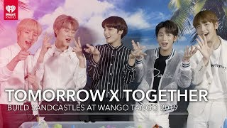 TOMORROW X TOGETHER Compete To Build The Best Sandcastle! | 2019 Wango Tango