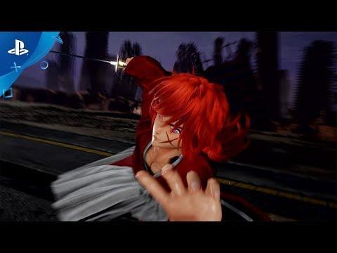 Jump Force - Ruroni Kenshin Trailer   PS4