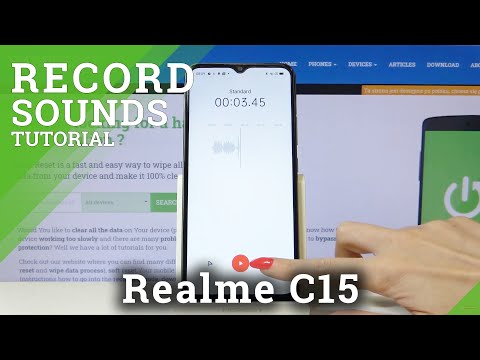 How to Record Sounds in REALME C15 – Catch & Save Sounds