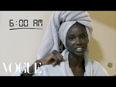 How Top Model Anok Yai Gets Runway Ready   Diary of a Model   Vogue