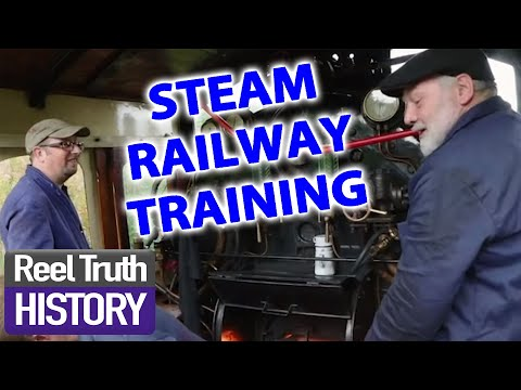 How To Be A Steam Railway Engineer | Yorkshire Steam Railway | Reel Truth History Documentaries