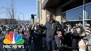 Beto O'Rourke Comments On Record-Breaking 2020 Fundraising | NBC News