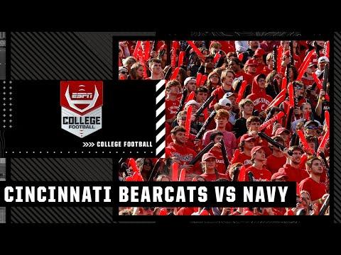 Cincinnati Bearcats at Navy Midshipmen   Full Game Highlights