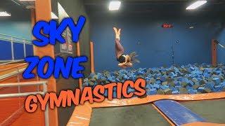 Trampoline Park Gymnastics| Rachel Marie