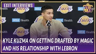 Lakers Exit Interviews: Kuzma on Getting Drafted by Magic and His Relationship with LeBron