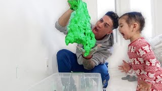 GIANT FLUFFY SLIME COMES ALIVE!!!