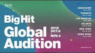 2018 BigHit Global Audition #1