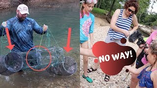 HUGE Creek Monster Caught In Amazons Cheapest Minnow Trap!