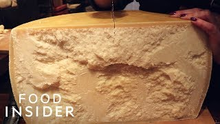 Why Parmesan Cheese Is So Expensive