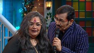 The Kapil Sharma Show - Uncensored Footage | Usha Uthup & Sudhesh Bhosle
