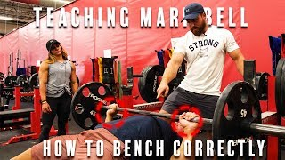 Showing Mark Bell How Benching Is Done Right | Super Training Chronicles| Part 2