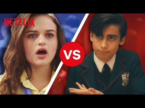 The Kissing Booth vs. The Umbrella Academy - Which School Is Better? | Netflix