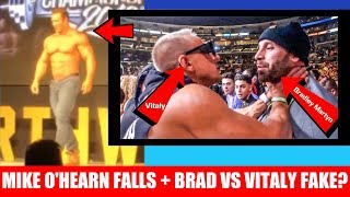 Mike O'Hearn Falls Off Stage + Bradley VS Vitaly Real or Fake? + Kai Greene Went Vegan for Money?