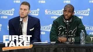 Should Chris Paul And Blake Griffin Stay With The Clippers? | First Take | June 26, 2017
