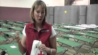 Go Behind the Scenes at a Red Cross Shelter