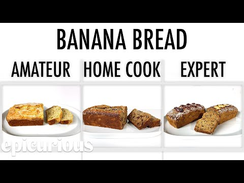 4 Levels of Banana Bread: Amateur to Food Scientist   Epicurious