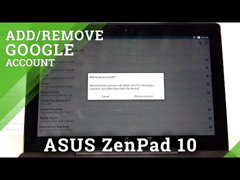 How to Add Google Account in ASUS ZenPad 10 – Sign In to Google
