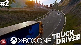 Truck Driver: NEW Xbox One Trucking Simulator! First Long Distance Delivery!! Gameplay