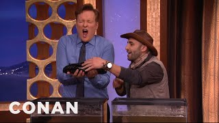 Coyote Peterson Passes Out Slugs - CONAN on TBS