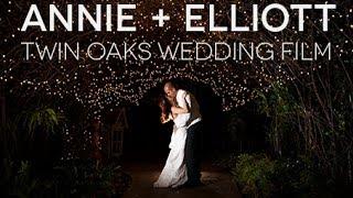 Annie + Elliott - Cinematic Wedding Film -Twin Oaks Garden Estate, San Marcos- The Big Pictures