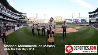 El 5 de Mayo en los White Sox y el Mariachi Monumental de Mexico