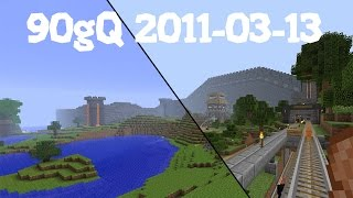 90gQ:s Minecraft server 2011-03-13 tillbakablick!
