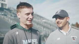 UMaine Football Hosts Todd Dill, Cystic Fibrosis Patient and Avid Sports Fan