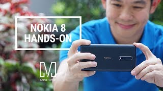 Nokia 8 Hands-On: First Nokia Android Flagship