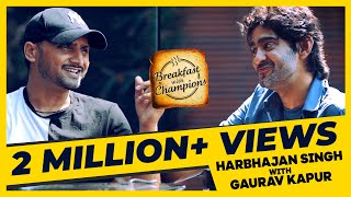 Harbhajan joins Gaurav Kapur & plays carrom with an egg!