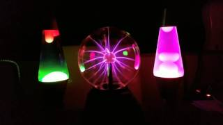Lava Lamps and Plasma Ball