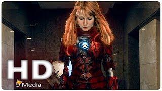 AVENGERS 4 Leak Iron Woman Reveal (2019) Pepper Potts Rescue, Marvel Superhero Movie HD