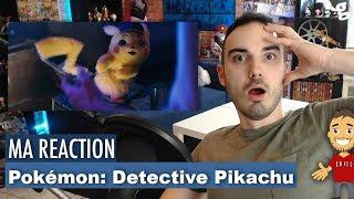 REACTION au TRAILER de POKEMON DETECTIVE PIKACHU avec RYAN REYNOLDS !