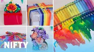 The Coolest Rainbow Gift Wrap Ideas