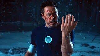 Iron Man Falls - Snow Scene ″Not My Idea!″ Iron Man 3 (2013) Movie CLIP HD