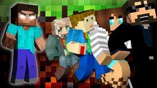 Minecraft: HEROBRINE MURDER   MODDED MINI-GAME