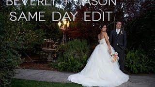Beverly + Jason Same Day Edit Twin Oaks
